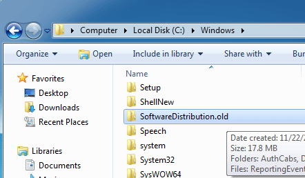 software-distribution-folder