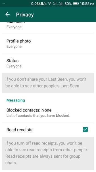 read whatsapp message without sending blue tick notification
