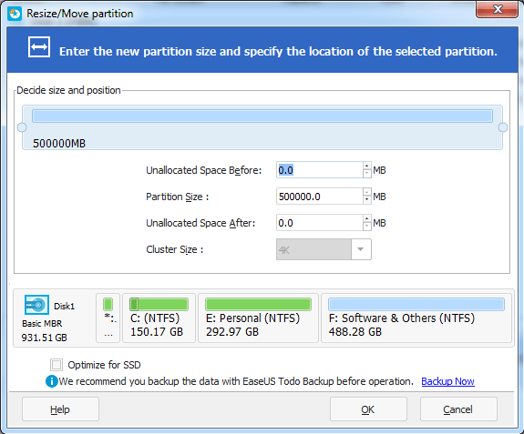 partition hard drive without formating