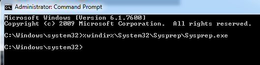 windows sysprop command