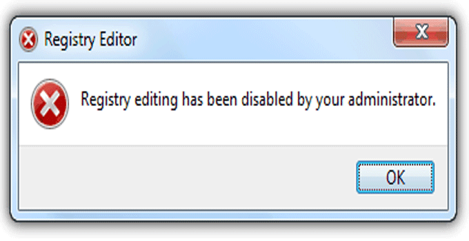 how to enable registry editor windows 7