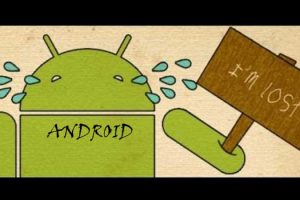find lost android
