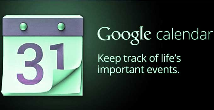 share Google calendar events