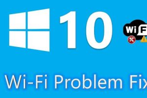 windows 10 no wi-fi problem