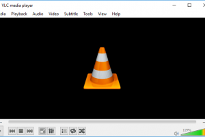 vlc media player window